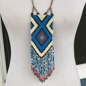 Stunning Native American Beaded Necklace